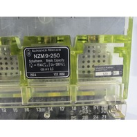 * NEW KLOCKNER MOELLER NZM9-250 MOLDED CASE CIRCUIT BREAKER 3POLE 250A 500V