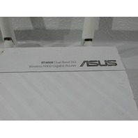 ASUS RT-N66W DUAL-BAND WIRELESS N-900 GIGABIT ROUTER WHITE