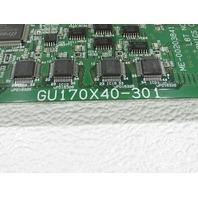 ISE ELECTRONICS GU170X40-301 DISPLAY UNIT