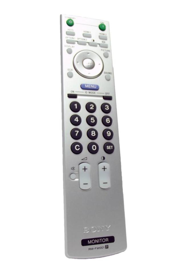 NEW Sony RM-FW001 GENUINE OEM Monitor Remote Control P/N 147998311
