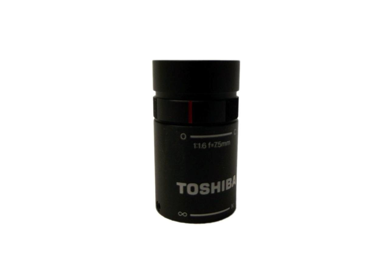 "NEW TOSHIBA JK-L75M 1/2"" 7.5mm Fixed Focal Length Lens for Lipstick Camera"