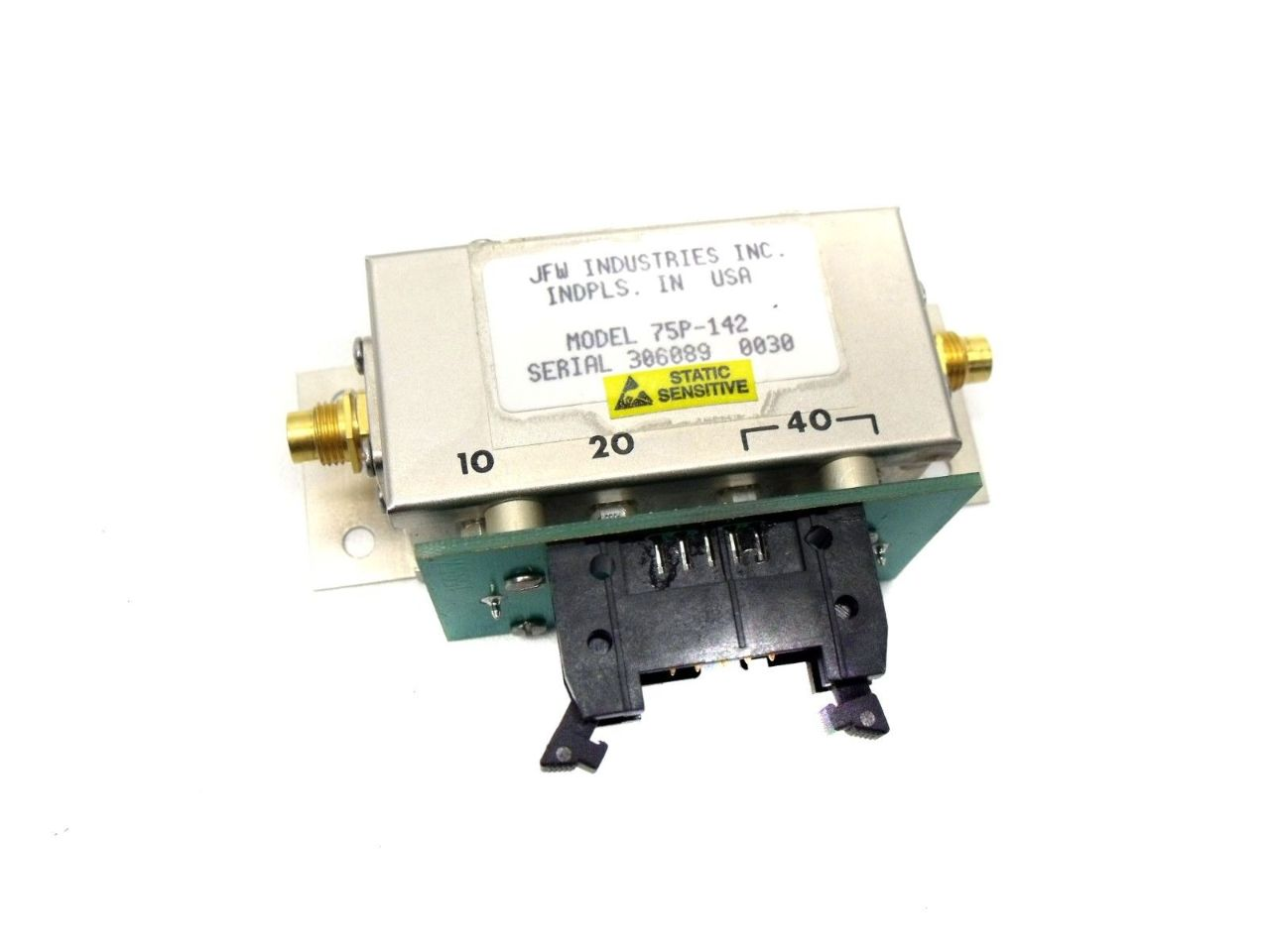 New JFW Industries 75P-142 Ohm Solid State Programmable Attenuator