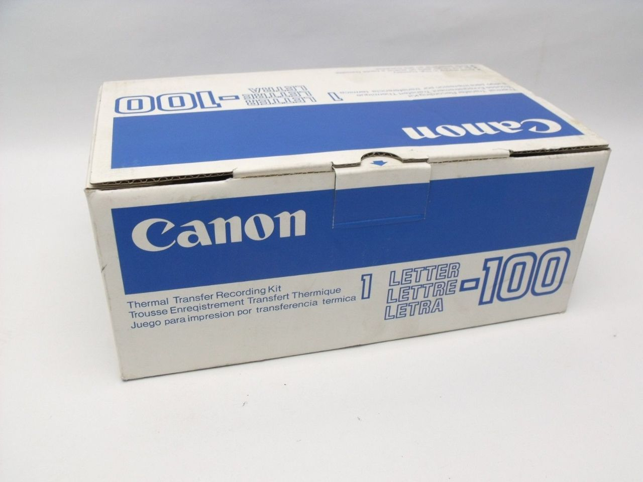 NEW Genuine Canon Letter 1 LETTER 100 Thermal Transfer Recording Kit