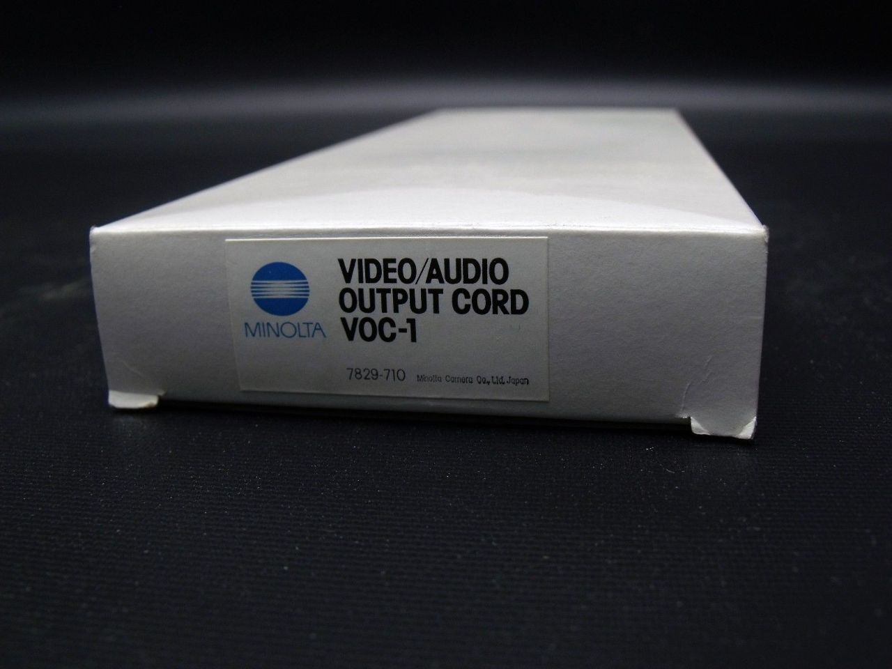 New Genuine Minolta VOC-1 7829-710 Video Audio Output Cord
