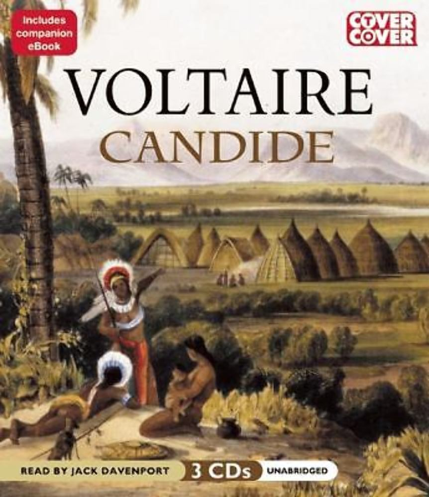 Candide by Voltaire (2012, CD, Unabriidged)