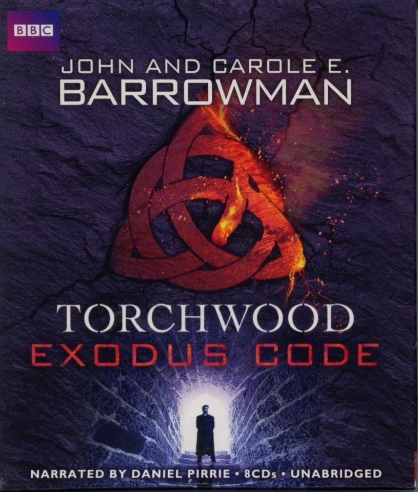 NEW Torchwood Exodus Code by John and Carole Barrowman Audio Drama CD 9781620642641 Unabridged