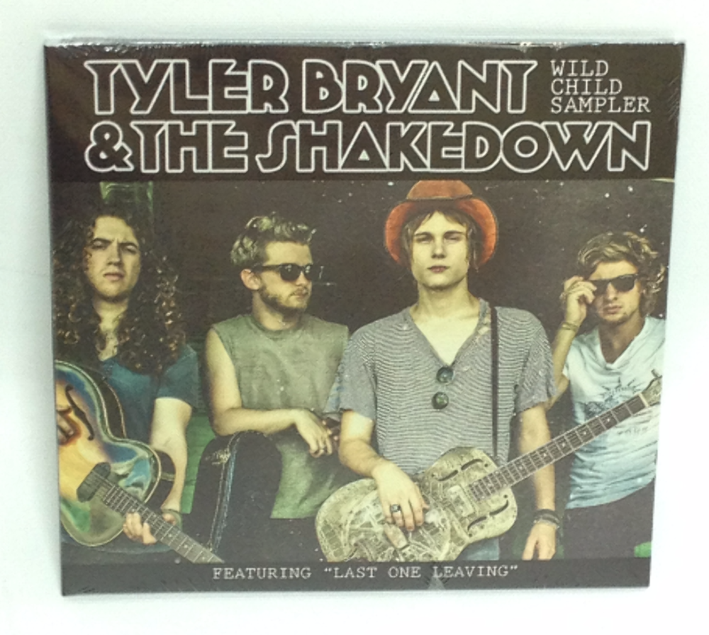 NEW Tyler Bryant & The Shakedown - Wild Child Sampler CD 2012