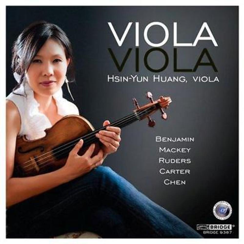 NEW Hsin-Yun Huang, Viola CD - Benjamin Mackey Ruders Carter Chen 2012