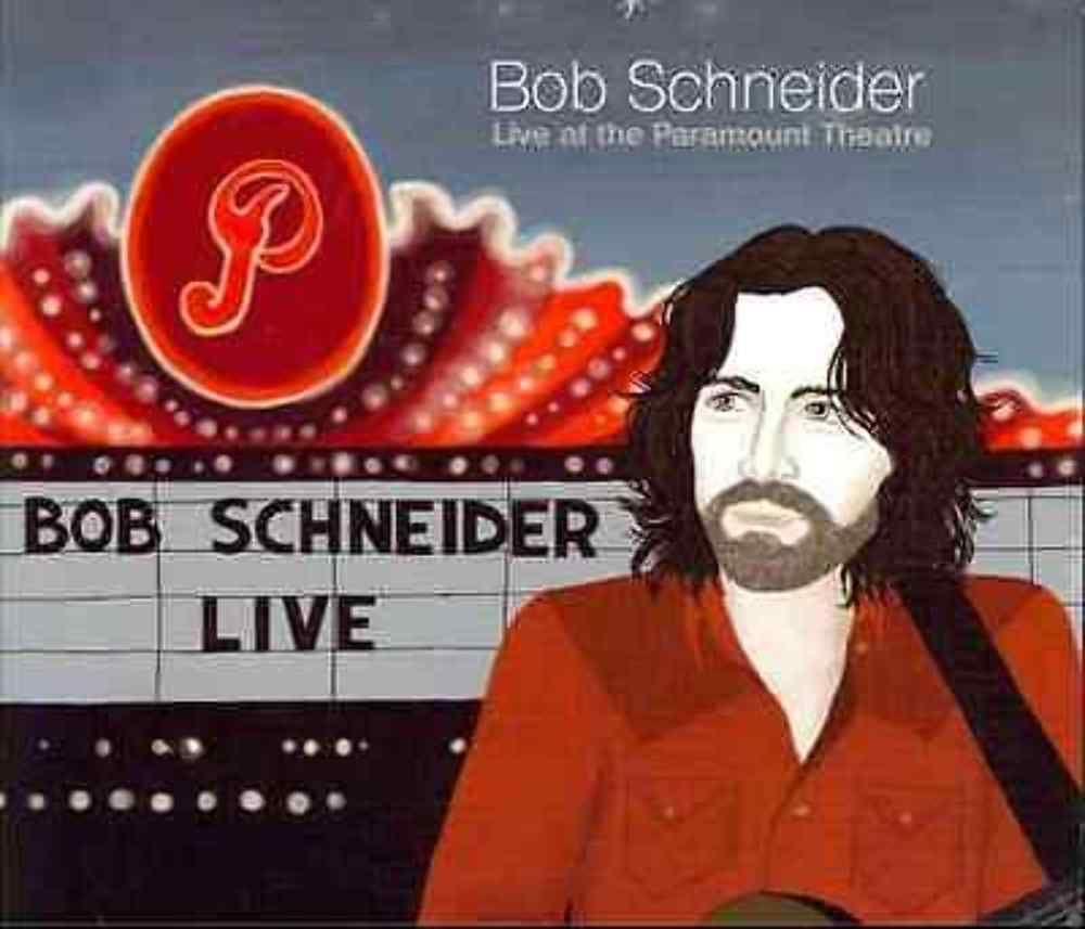 NEW Bob Schneider LIVE At The Paramount Theater DVD / 2-CD 733792883222