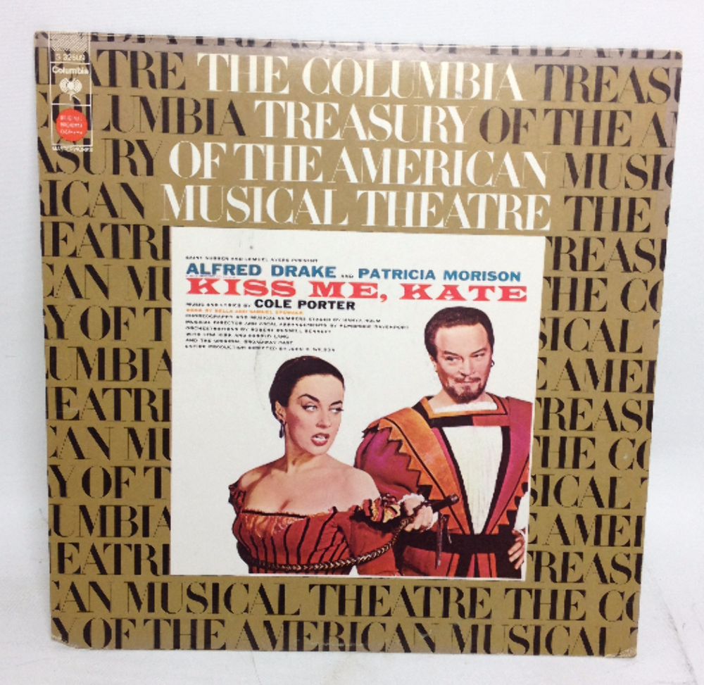 VINTAGE Alfred Drake and Patricia Morison KISS ME KATE Record LP 32609 1973