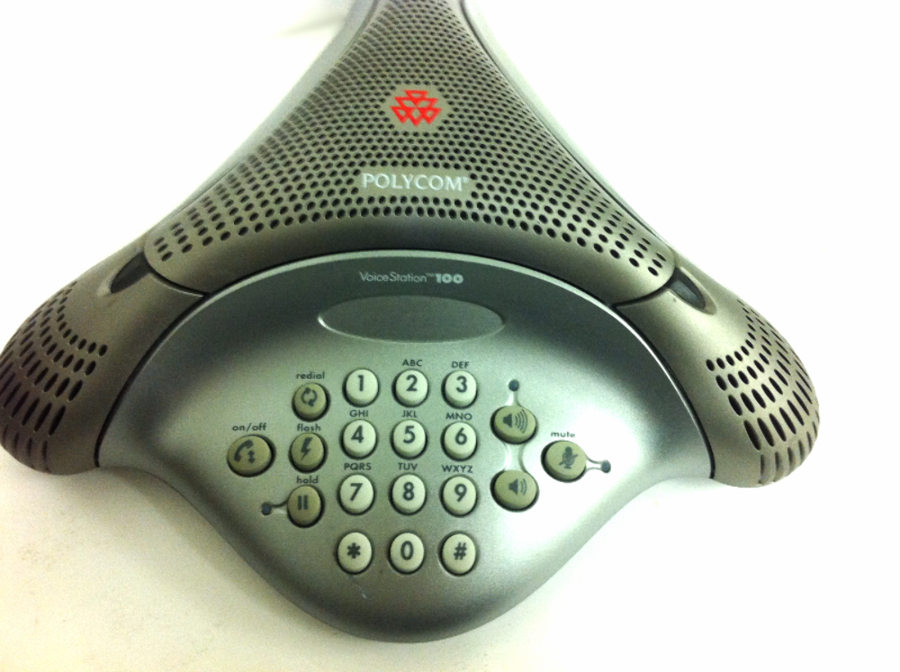 Polycom VoiceStation 100 Confernce Phone Unit  A2012500145E