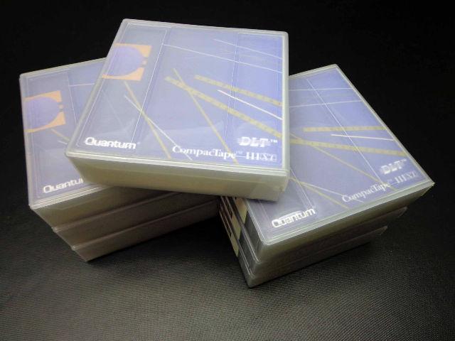 Lot of 7 BRAND NEW Quantum CompacTape III XT DLT Tapes TAPE NEW