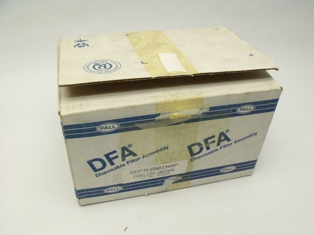 Lot of 6 New Pall DFA SDFA3001NRP Disposable Filter Assembly
