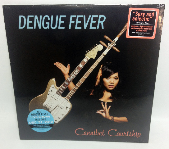 NEW Cannibal Courtship by Dengue Fever (Vinyl, May-2011, Concord)