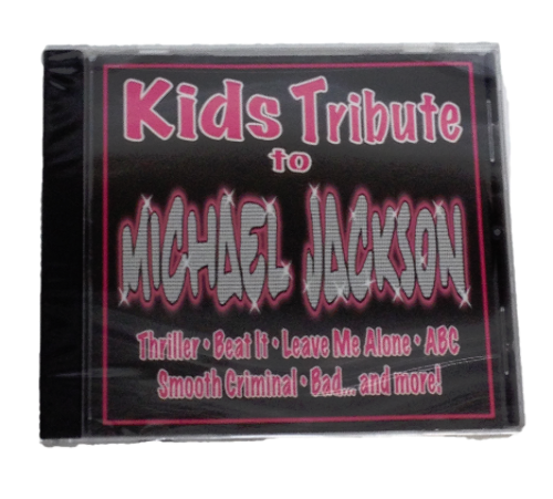 NEW Kids Tribute to Michael Jackson CD 881666185528 Hip Kiddy