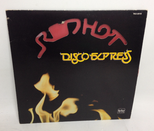 VINTAGE 1979 REDHOT Disco Express LP TA3-2019 Red Vinyl Record TeeVee