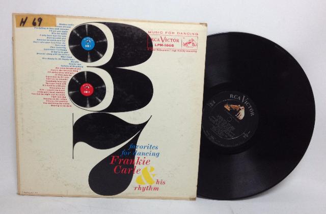 VINTAGE 1958 37 Favorites for Dancing FRANKIE CARLE & his Rhythm LP Vinyl Record