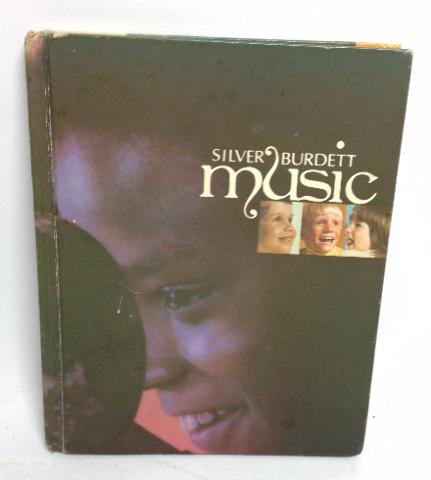 VINTAGE 1974 Silver Burdett MUSIC BOOK Aubin / Beer / Beethoven / Crook / Hayden