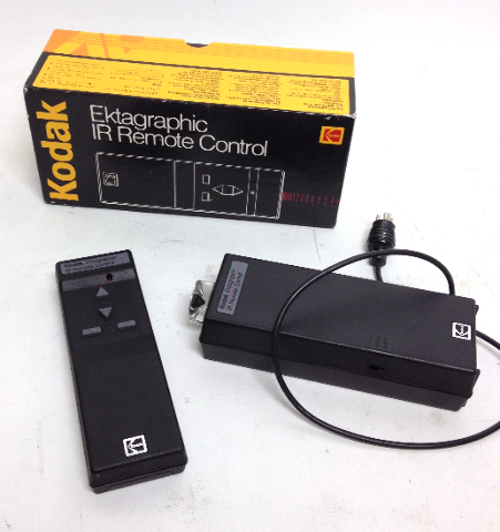 Kodak Ektagraphic IR Wireless Remote Control Controller
