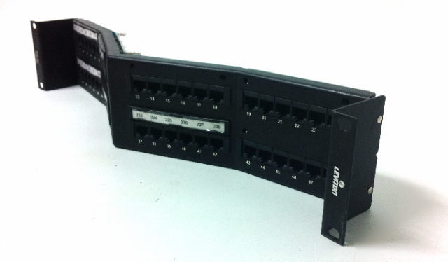 Leviton Cat 5e Gigamax 48-Port with mount
