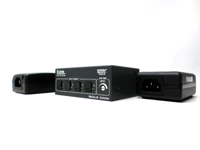 Extron MLS 100 Series switcher with power supplies