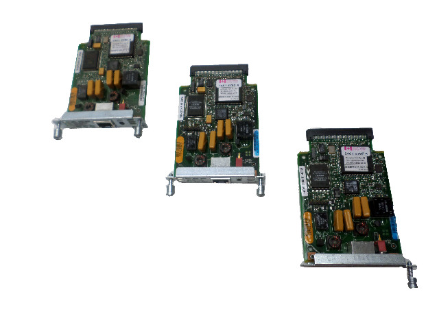 A Lot of 3 Cisco 800-03279-03D0 Module Router Network Card Adapters