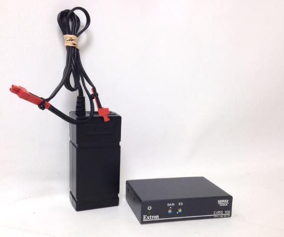 Extron CVEQ 100 & SVEQ 100 Video Line Driver