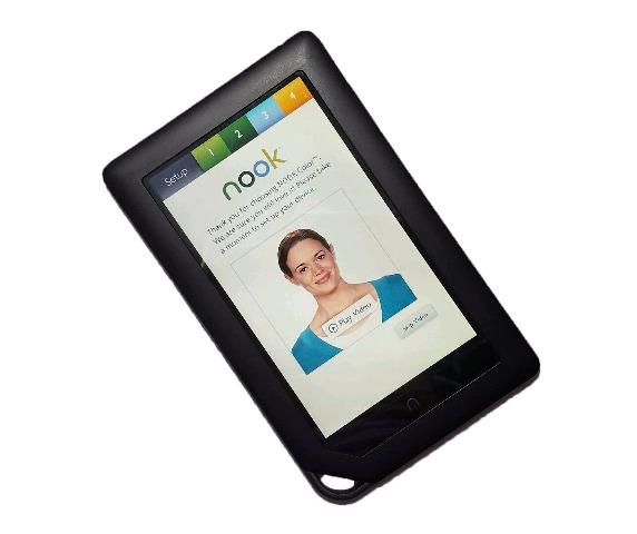 """Barnes & Noble 7""""  7in Wi-Fi Nook BNRV200"""