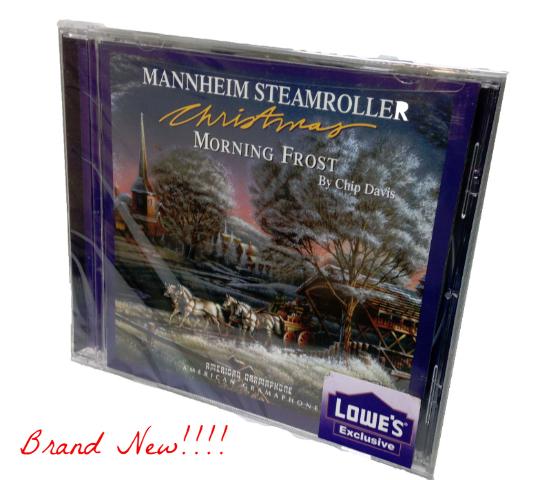 "New! MANNHEIM STEAMROLLER ""Morning Frost"" (CD 2008) Christmas ***SEALED***"