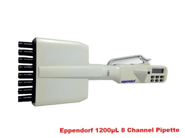 Eppendorf 1200µL 8 Channel Pippette