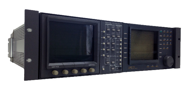 Tektronix WFM 601M Serial Component Monitor and VideoTek TVM-710 Video Analyzer