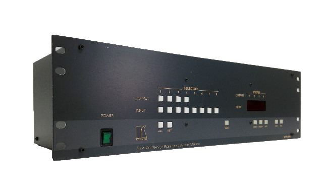 Kramer 8x4 RGBHV/ Balanced Audio Matrix VP-84