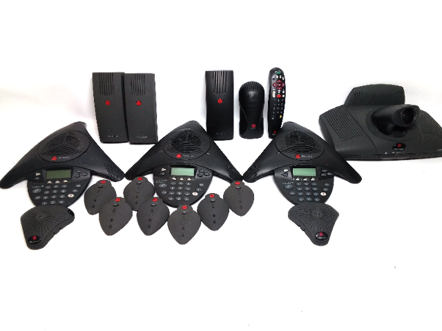 Big Lot of Polycom Equiment Nontested
