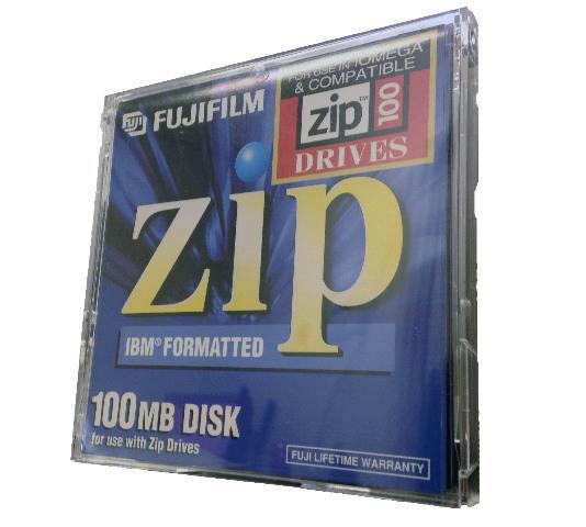 Lot of 6 FujiFilm 100MB Zip Disk For MAC 1-pack Brand New
