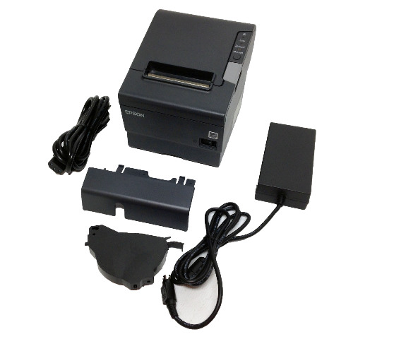 Epson M244A TM-T88V Thermal Receipt Printer W/ USB Cable/ AC Adapter /Software