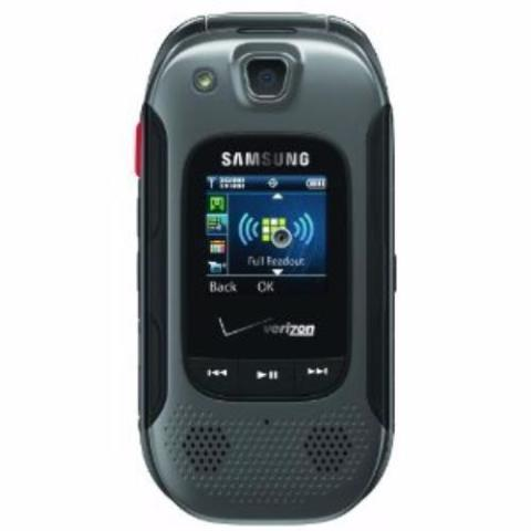 Samsung Convoy 3 SCH-U680 - Black Verizon Rugged Cellular Flip Phone