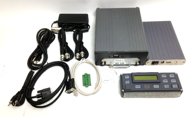 RAE Systems Aegison DV6010 Mobile DVR Recorder DVR with Docking Station and Controller