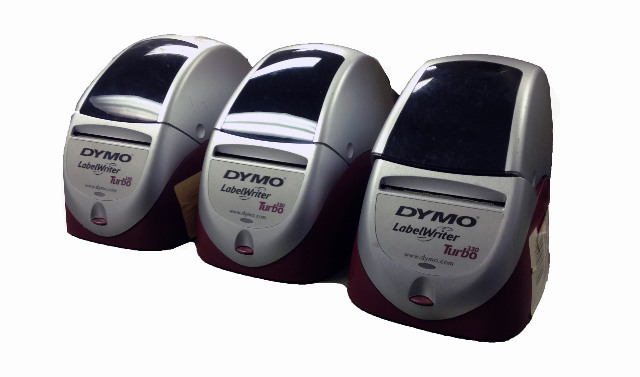 Lot of 3 Dymo LabelWriter 330 Turbo Thermal Label Printer 93038