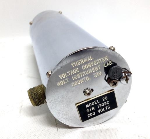 Holt Thermal Voltage Converter Model 20 S/N 13032 200 Volts