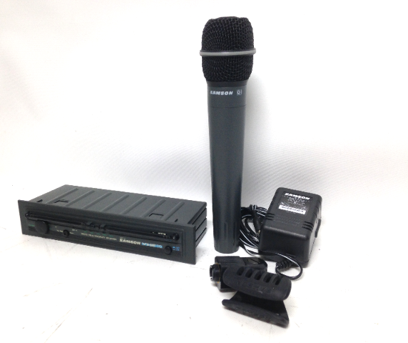 Samson VR3TD True Diversity Receiver with Microphone