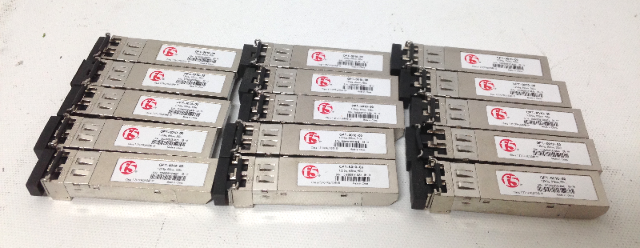 Lot Of 15 F5 OPT-00-10-00 Transciever 1.25 Gig, 850nm, 550m