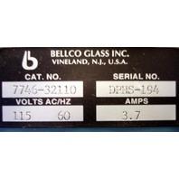 BellCo Dual Pan Hot Shaker Cat No. 7746-32110 HotShaker DUAL Pan HOT BATH LAB