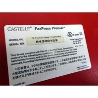 Castelle FaxPress Premier FP PREMIER DIGITAL T1 DOM 38D + Windows 2000 Svr COA