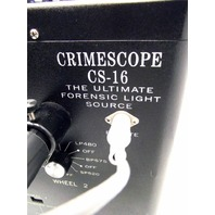 SPEX CrimeScope CS-16 UV CRIME Scene UltraViolet LIGHT + HARD CASE CS-16-10