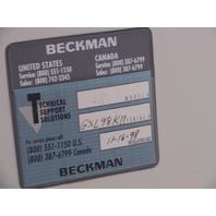 Beckman Genomyx SC and Beckman Genomyx LR System LN