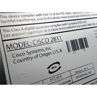 CISCO 2811 2800 Series ROUTER + VIC2-4FXO & 128MB FLASH CISCO2811 Cisco Systems