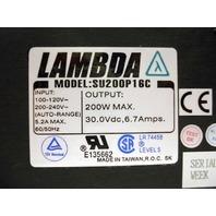 NEW Lambda Model SU200P16C Power Supply NEW