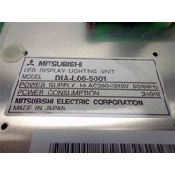 "NEW Mitsubishi DIAMOND LED TEST Lighting Display Unit 15"" x 15"" DIA-L06-5001"