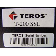 TEROS T-200 Secure Gateway ENTERPRISE Web Application Firewall SSL T200 T 200