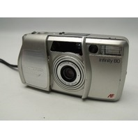 Olympus Infinity 80 35mm AF 38-80mm Point and Shoot Film Camera Parts/Repair